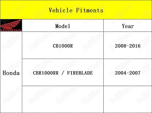 3d leve frizione e freno set per CB1000R 2008-2016//CBR1000RR FIREBLADE 2004-2007 leve frizione freno Nero