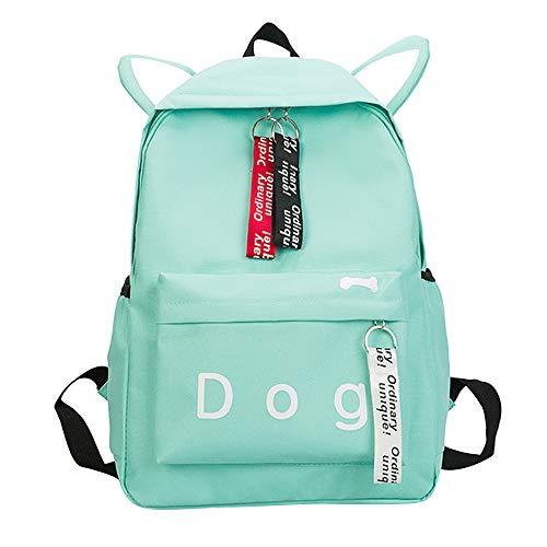 Amazon.com | JJLIKER ❤ Women Canvas Backpack, Dog Letter Fasgion Lovely School Shoulder Bag | Kids Backpacks