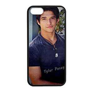 iPhone 5 Case, [Teen Wolf-Tyler Posey] iPhone 5,5s Case Custom Durable Case Cover for iPhone5s TPU case (Laser Technology)