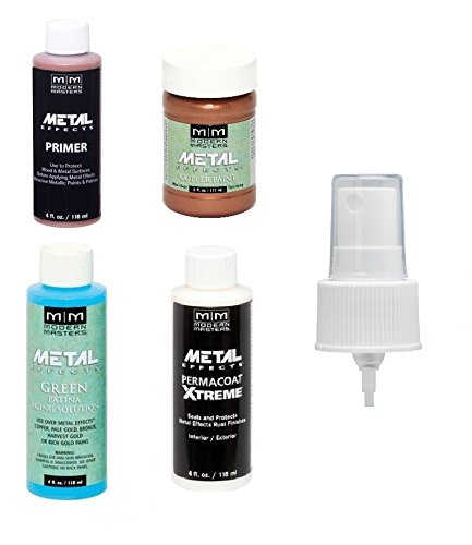 Modern Metal (Modern Masters Metal Effects Copper Paint and Green Patina Kit)