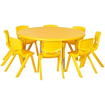 Amazon Com 8 Seat Toddler Activity Table Baby