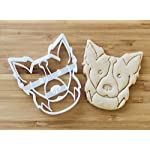 Border Collie Cookie Cutter and Dog Treat Cutter - Dog Face 4
