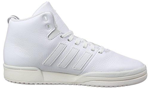 De ftwr Adidas White Blanc chalk Chaussures Wei White Mixte Basketball Adulte Veritas White ftwr Lea qzzt1