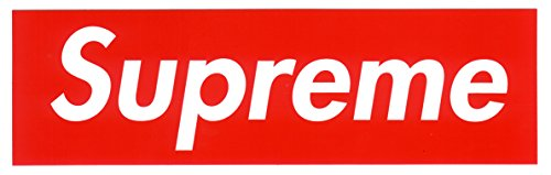 Large Width Supreme decal sticker product image
