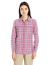 Wolverine Womens Aurora Two-Sided Brushed Flannel
