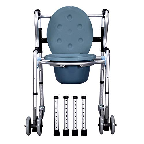 (Hands Free Walker Folding Caddy for Elderly,Seniors, Handicap and Disabled Stabilizer with Four Wheels, 396 Lb Weight Capacity Fauay)