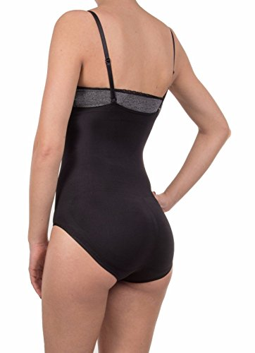 bestsale4you - Body - para mujer negro