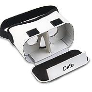 Dlife(TM) DIY Google Carton 3d VR Réalité Virtuelle 3D Lunettes pour iPhone Samsung HTC Téléphones Portables 3.5 ~ 6 pouces Ecran …