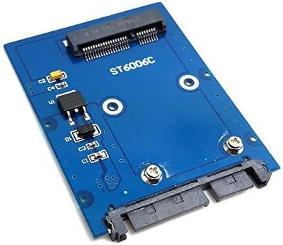 ChenYang - Adaptador de disco duro PCI-E mSATA SSD a SATA 3.0 de 2 ...