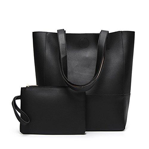 Moda Grande Americano Solo Bag E Commercio Nero Estero Meaeo Europeo x46UwqB
