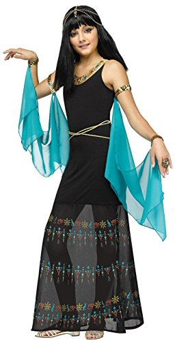 Fun World Egyptian Queen Costume, Medium 8-10, Multicolor -