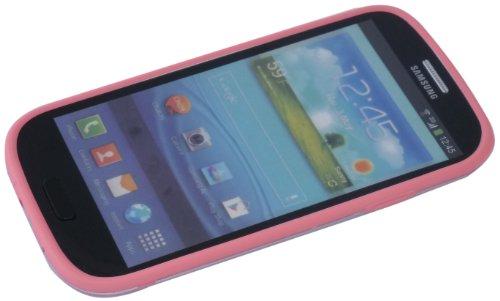 Avcibase 4260310641997 Silikon TPU Bumper Schutzhülle für Samsung Galaxy S3 i9300 pink
