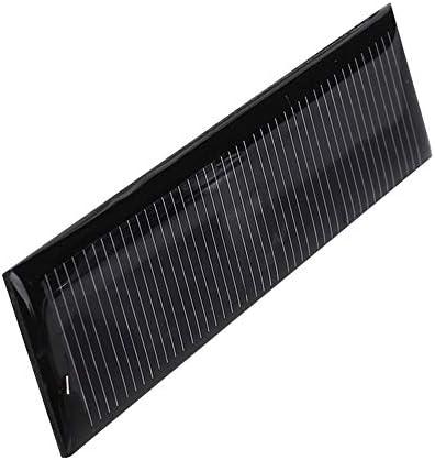 Z.L.FFLZ Mini Solar-Panel Wasserdichtes Solar Panel Tragbarer Polysilicon Solarzellen-Schnellladegerät Solarlicht DIY Spielzeug Durable DIY 5.5V 0.22W