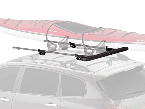 Yakima - ShowBoat 66, Load Assist, Slide-Out Roller System for Canoes and Kayaks ()