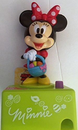 Minnie Mouse Talking Easter Basket Filler Candy Dispenser To