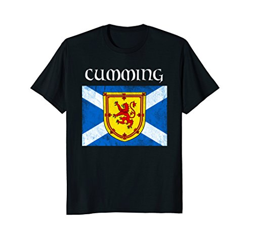 Cumming Scottish Clan Name Shirt Scottish Festival Tee