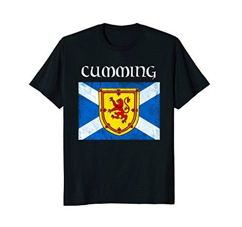 Shop Cumming Clan (Cumming Scottish Clan Name Shirt Scottish Festival Tee)