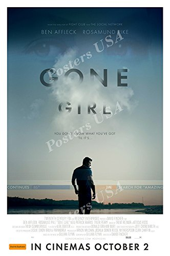 """Posters USA - Gone Girl Movie Poster GLOSSY FINISH - MOV160 (24"""" x 36"""" (61cm x 91.5cm))"""