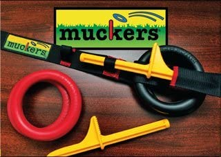 Quoits Saturnian I Muckers Ring Toss Game w// 3/' Carry Strap by