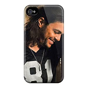 Bumper Hard Cell-phone Case For Iphone 4/4s (evM340IUjR) Support Personal Customs HD Foo Fighters Series