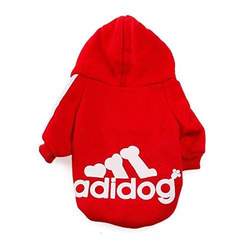 Gremlin Dog Halloween Costume (Delight eShop Winter Casual Adidog Pet Dog Clothes Warm Hoodie Coat Jacket Clothing For Dog (S))