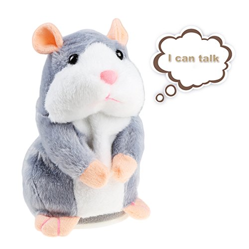 Talking Hamster Plush Toy, Repeat What You Say Funny for sale  Delivered anywhere in Canada
