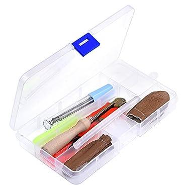Outus Needle Felting Starter Tool Set Wool Felt Needle Craft Kit with Handy Case