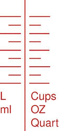 Juego de jarras graduadas KS Tools 150.9205