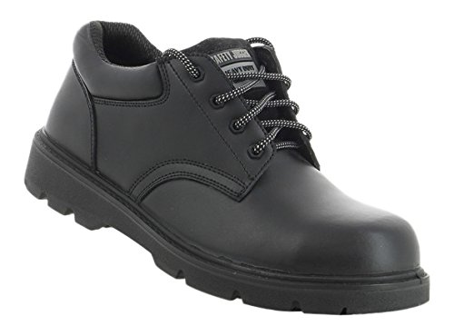 ab10f6ec53a SAFETY JOGGER X1110 Men Safety Toe Lightweight EH PR Water Resistant Shoe,  M 13, Black