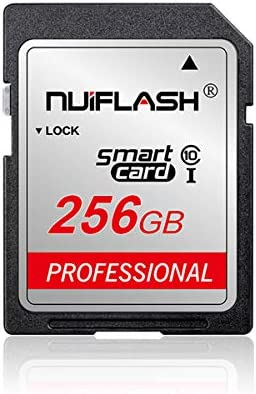 256GB SD Card Class 10 High Speed Memory Card Compatible Computer Cameras and Camcorders,Camera Memory Card,Works with Any Product with Card (256GB)…