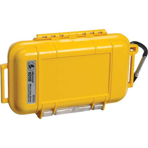Pelican Products Micro Dry Case (1015), Yellow by Pelican