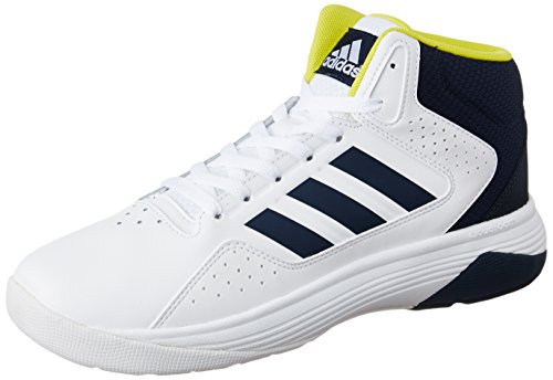 Adidas neo Men #39;s Cloudfoam Ilation Mid Leather Sneakers