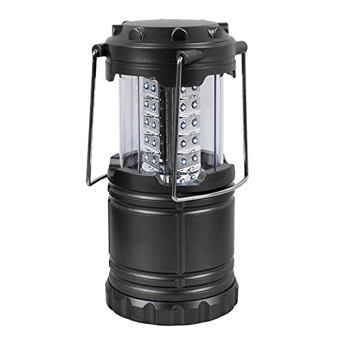 Happy Hours AA Battery Operated Ultra Bright 30 LED Camping Lantern 100LM Stretching Switch ON/OFF Great for Backyard Backpacking Camp Sites Cars Hurricane Outages, Battery Is Not Provided by Happy Hours®