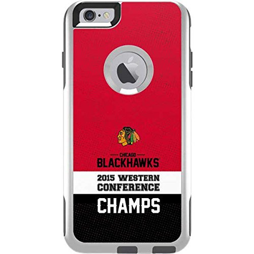 NHL Chicago Blackhawks OtterBox Commuter iPhone 6 Plus Skin - Chicago Blackhawks 2015 Western Conference Champs by Skinit