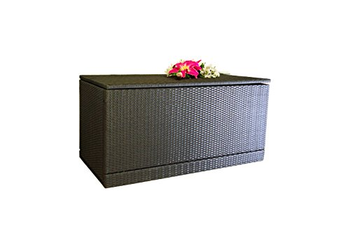 Nexos Wäschebox Kissenbox Wäschetruhe Truhe Box Rattanbox Rattan Auflagenbox Nexos Trading