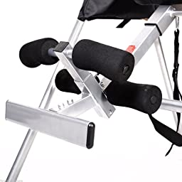 Goplus New Foldable Premium Gravity Inversion Table Back Therapy Fitness Reflexology