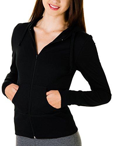 Caramel Praline Juniors Lightweight Zip up Hooded Jacket (X-Small, ()