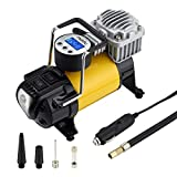 Miady 12V DC Portable Digital Tire Inflator, Air Compressor Pump 150PSI & Auto