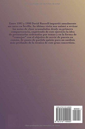 La Técnica de David Russell: en 165 consejos: Amazon.es: Antonio de Contreras: Libros