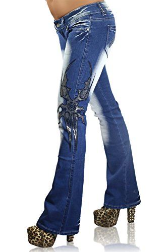 Crazy Age - Vaqueros - Pantalones Boot Cut - para Mujer