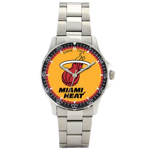 NBA Men's BC-MIA Miami Heat Coach Series Watch by Game Time