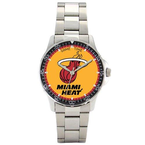 NBA Men's BC-MIA Miami Heat Coach Series Watch by Game Time