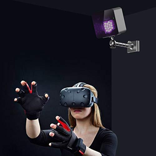 Forebee 2PCS Wall Mount Bracket Wall Mount Stand Holder for HTC VIVE Base Station/Oculus Rift Sensor/Lighthouses-360 Swivel Mini Ball Head 1/4 -