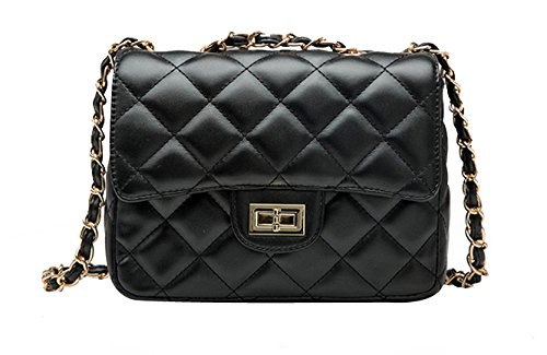 Quilted Leather Handbags - 5