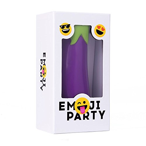Emoji Party Family Card Game - The Fast-Action Eggplant Grabbing Party Game.