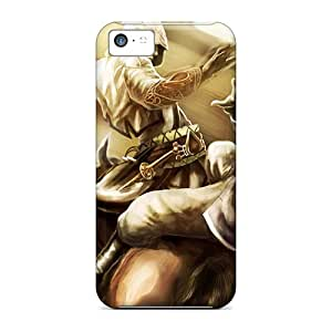 For Iphone 5c Premium Tpu Case Cover Connor Kenway Assassins Creed Iii Protective Case