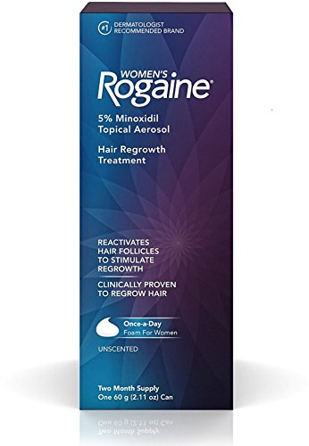 Rogaine Women's Hair Regrowth Treatment, 2 Month Supply 2.11 oz (Pack of 5) by Rogaine