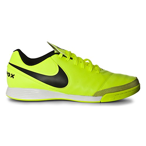 NIKE Men's Tiempox Genio II Leather IC Soccer Shoe Volt/Black visit new outlet Inexpensive sale pick a best cheap sale reliable XJ9aId