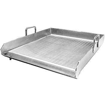 Amazon.com : Stainless Steel Flat Top Comal Plancha 18