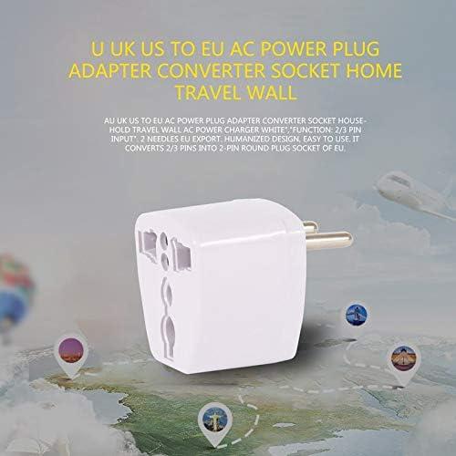 Yukiko AU UK US vers EU AC Adaptateur convertisseur de Prise de Courant Adaptateur convertisseur de Prise Murale de Voyage